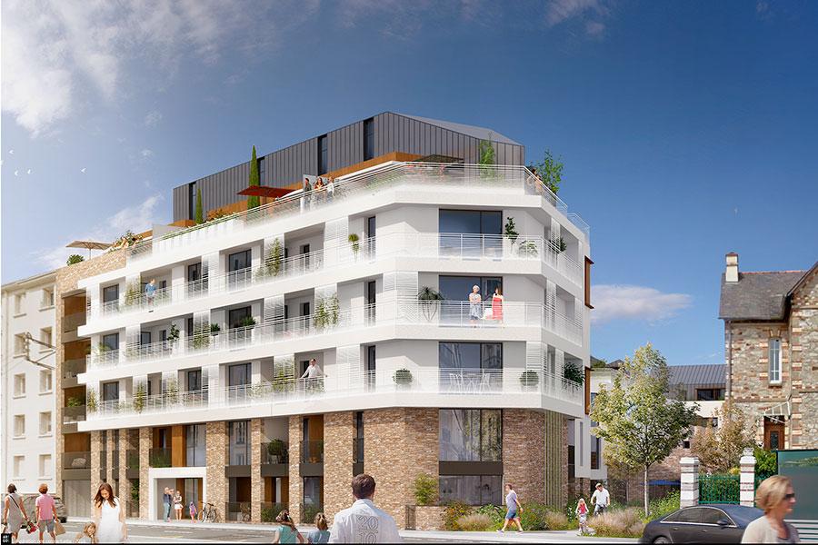 RENNES : T5 neuf de 79 m²